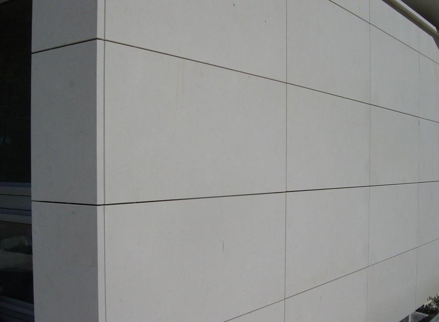 Façade agrafée Maison Montpellier