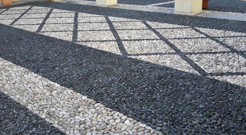 Escalier en marbre et granit Musée Fabre Montpellier