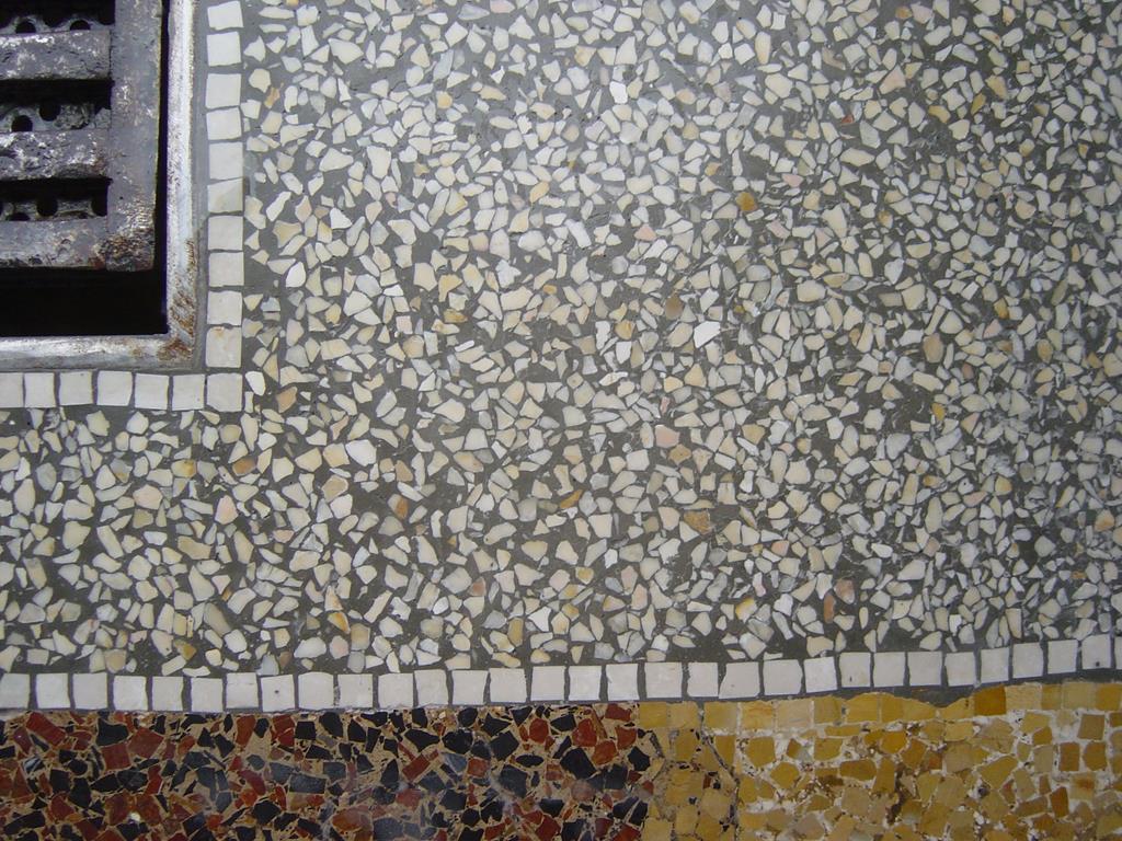 restauration et pon age de terrazzo granito immeuble ominero marbrerie montpellier h rault ominero. Black Bedroom Furniture Sets. Home Design Ideas